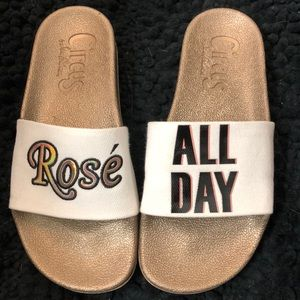NWOB Circus by Sam Edelman Rose' All Day Slides